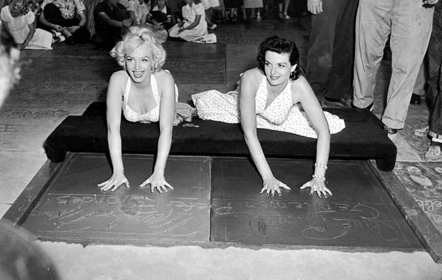 Marilyn Monroe & Jane Russell