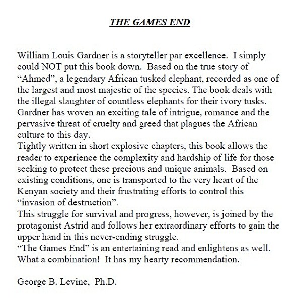 The Games End Review
