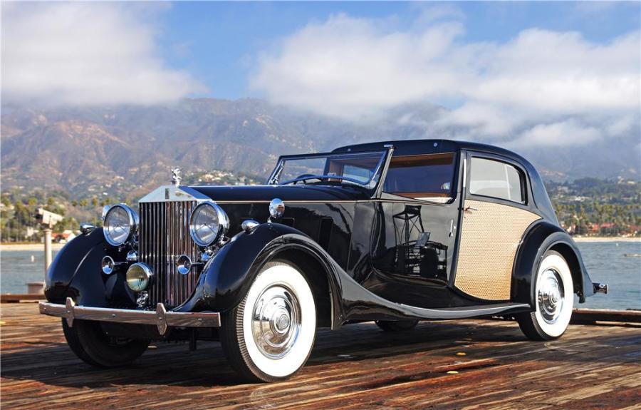 Rolls Royce Phantom III | Book about 50's 60's Hollywood