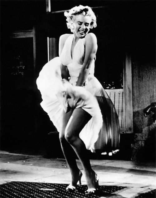 Marilyn Monroe skirt Confessions Hollywood