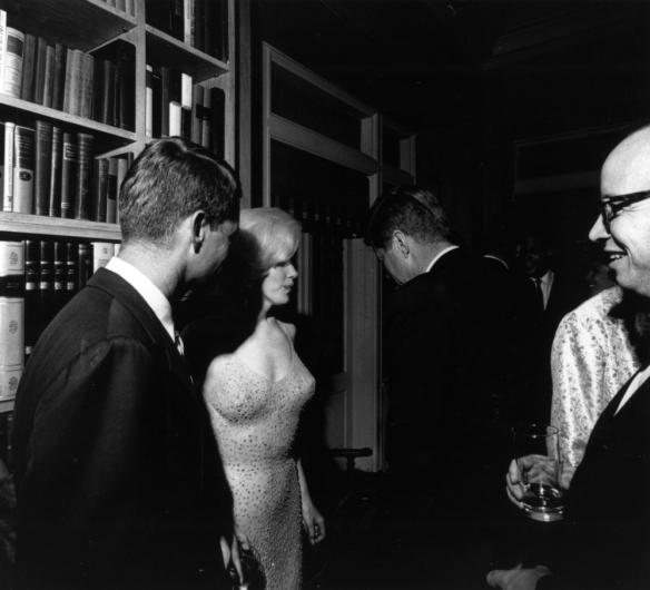 Marylin Monroe and JFK