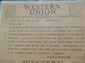 eisenhower telegram