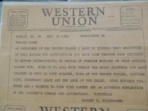 eisenhower telegram