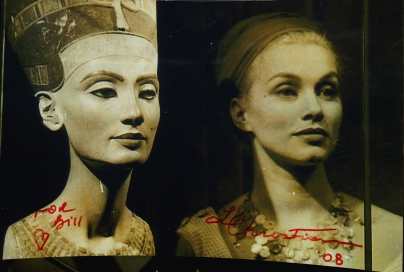 Lynda Christian and Nefertiti