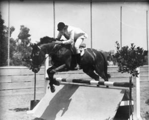William Louis Gardner on horse 2