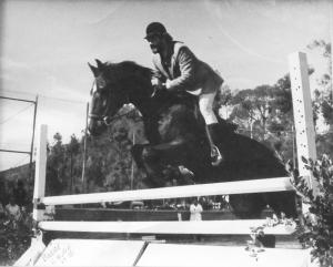 William Louis Gardner on horse 3